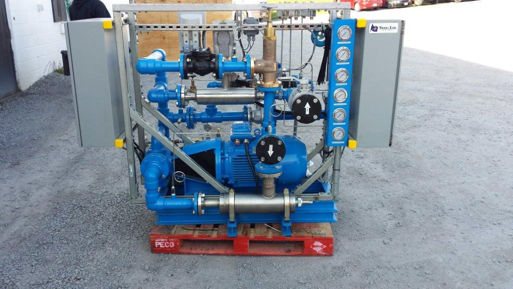 Nonox Emulsion Fuel System for Marine
